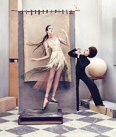 Neiman Marcus Art of Fashion 2016 Fall / Winter Campaign - Valentino Fall 2016