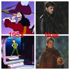 I think I'm pretty ok with the changes:) Captain Hook is a good guy:) Peter Pan is the bad guy... And once upon a time is amazing:)