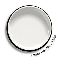 Resene Half Black White is a cool white with a mysterious shadowy edge to it. From the Resene Whites & Neutrals colour collection. Try a Resene testpot or view a physical sample at your Resene ColorShop or Reseller before making your final colour choice. www.resene.co.nz