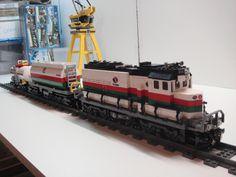 /by tsirane #flickr #LEGO #train