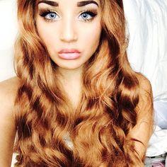 Jadah Doll Most beautiful girl ever! Pretty Hairstyles, Straight Hairstyles, Jadah Doll, Curly Hair Styles, Natural Hair Styles, Gorgeous Hair Color, Luscious Hair, Mixed Girls, Hair Creations
