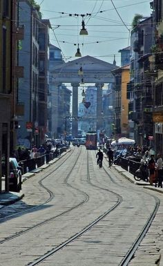 Corso di Porta Ticinese ♦ Milan, Lombardy, Italy (by giorgimer)