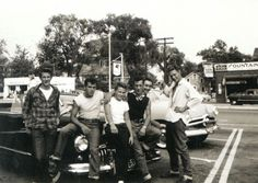 "sanfrancisco1967: ""Greasers on the 4th of July, 1956 """