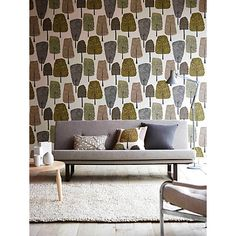 Buy Scion Cedar Wallpaper Online at johnlewis.com