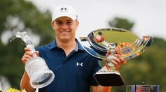 Jordan Spieth caps a sensational 2014-2015 season in which he won two majors and five overall events by earning PGA Tour Player of the Year honors.