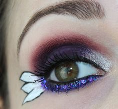 Sailor Saturn inspired makeup by http://www.talasia.de/2016/05/07/sailor-saturn-inspired-make-up/