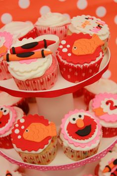 "catchmyparty.com ""elmo themed 2nd birthday"""