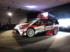 Das ist der Toyota Yaris WRC 2017! Latvala & Hänninen als Fahrer bestätigt.