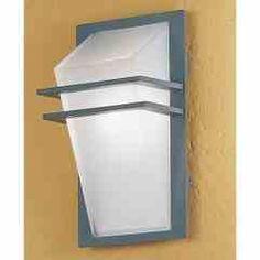 Modern exreior wall light.