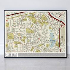 Film Map, $31, now featured on Fab.