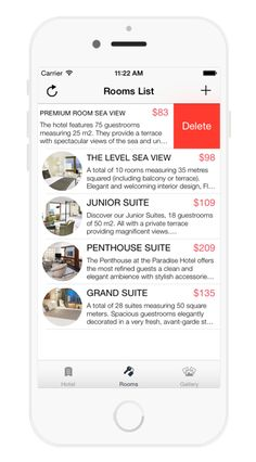 Hotel Booking APP on Behance Hotel Booking App, Behance