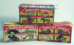 Barnum's Animal Crackers  c. 1963