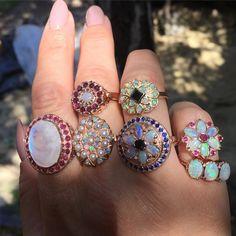 #magic #magical #opal #opalring #opals #moonstone #ruby #sapphire