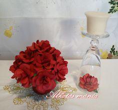 #papír #rózsa #csokor #diy #dísz #ünnep #ajándék #videó #oktatóvideó #tutorial #alkotásmánia