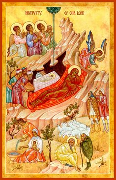 Nativity Curriculum from the Bulgarian Orthodox Youth Apostate Religious Icons, Religious Art, Catholic Lent, Church Interior, Russian Orthodox, Orthodox Icons, Christian Faith, Images, Creations
