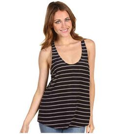 Joie Drew C Mini-Stripe Tank Top