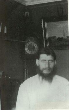 "Rasputin at home. ""AL"""