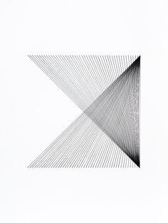 Title: 12x12 Series Untitled #03 Artist: Ryan Roa #inkonpaper #contemporaryart #Ryan Roa #gallerynine5 #StressPoints