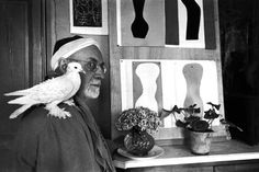 "Matisse in his studio... ""creativity is not just a good idea, it is the future"""