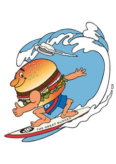 THE GREAT BURGER character