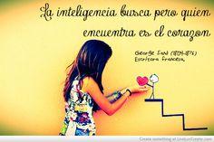 Inteligencia Y Corazon Picture by Juana Camacho Otero - Inspiring Photo