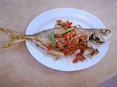 Fried Fish with Chilli