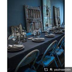 Art Painting For Home Decoration Diy Interior Doors, Interior Window Shutters, Interior Photo, Interior Styling, Interior Decorating, Decorating Games, Decorating Blogs, Interior Design, Blue Cafe