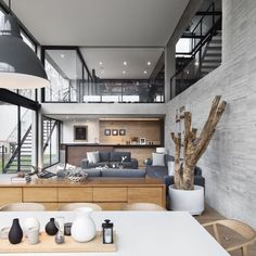 Mexico modern architecture Powered by: Interior Design Inspiration, Exterior Design, Future House, Interior Architecture, New Homes, House Design, Home Decor, Loft Apartments, Lounge