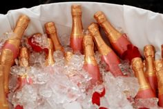 mini pink champagnes @Kimmy Lewis you need these