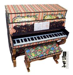 The Gentleman Crafter: Beth's Piano is Back! New Famous Fairy Doors! Lit...