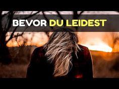 BEVOR DU LEIDEST... SCHAU DIR DIESES VIDEO AN - YouTube Leiden, Robert Weber, Self Esteem, Videos, Meditation, Sweet, Youtube, Movies, Movie Posters