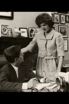 JFK and Jackie, 1959 The same year that Charles and Ray #Eames did their GLIMPSES OF THE USA show in Moscow!