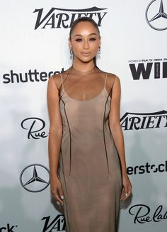 Actress Cara Santana attends Variety and Women in Film's Pre-Emmy Celebration at Gracias Madre.