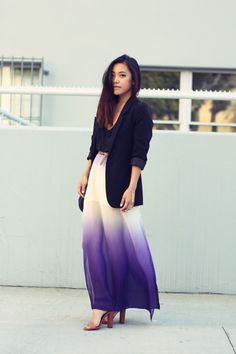 a fan of the skirt, the long blazer.. not so much :/ should have worn a crop blazer imo