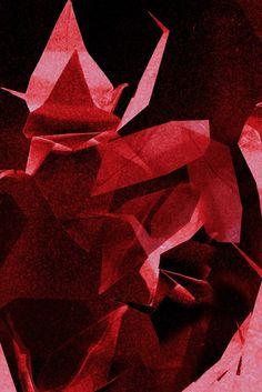 Serce, Martyna Bocheńska,grafika cyfrowa, 30 x 45 cm