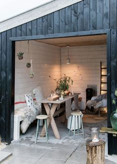 Gravity Home — Dutch Christmas cottage Pergola, Outdoor Spaces, Outdoor Living, Outdoor Decor, Gravity Home, Diy Garden Decor, Garden Inspiration, Interior And Exterior, Cottages