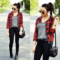 Persunmall Jacket, Zara Pants, H&M T Shirt, Zero Uv Sunnies