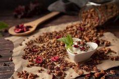 Domácí čokoládové křupavé müsli Food, Essen, Meals, Yemek, Eten