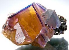 Fluorite on Sphalerite from Illinois
