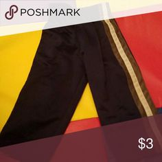 Blue jersey pants Dark Blue jersey pants polyester fabric Bottoms Casual