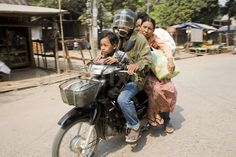 Daily Life in Myawaddy Myanmar Burma