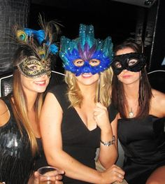 mascarade ball - hen party - masks
