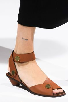 Sandales petits talons Stella McCartney faux cuir