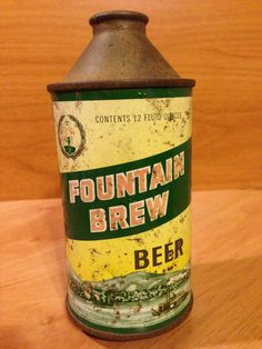 Fountain Brew Beer  Fountain City Brewing Co.  Fountain City, WI 163-20