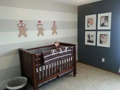 Sock monkey nursery
