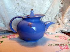 Hall Teapot Art Deco Windshield Style from by VintageLoversShop, $40.00