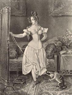 All The Pretty Dresses: 1830's Corset!