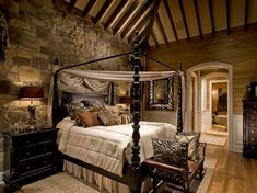 Rustic Looking Bedrooms - Vintage Decor Ideas Bedrooms Check more at http://dailypaulwesley.com/rustic-looking-bedrooms/