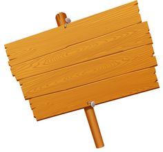 Tropical-decor-wood-sign-vector.png (584×543) | Festa Tropical ...