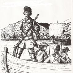 Rogers Rangers Lake George Lake George, North West, Indiana, Ranger, Military, Canada, War, Illustrations, French